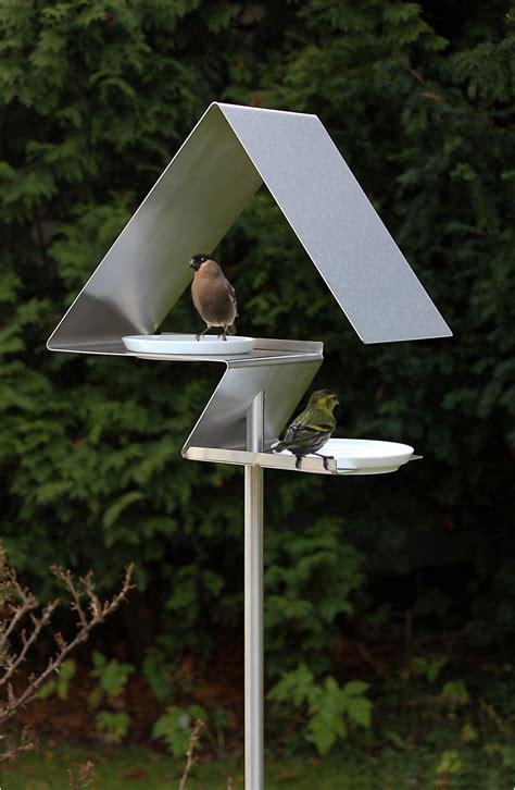 Designer Bird Baths Birdhouses And Bird Baths From Opossum Design Design Milk