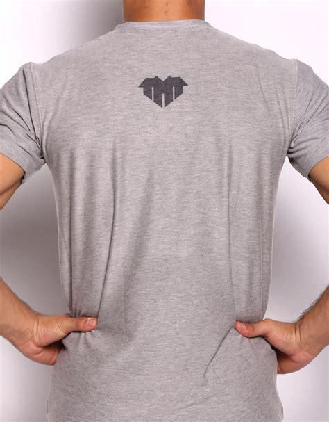 Tshirt T Shirt Tmt t shirt quot big tmt logo quot rayon spandex grey tmt
