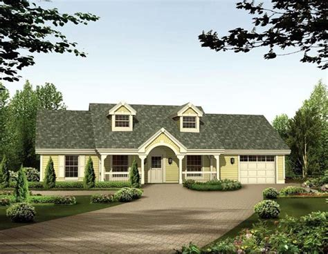 cape cod ranch house plans cape cod country ranch house plan 87398