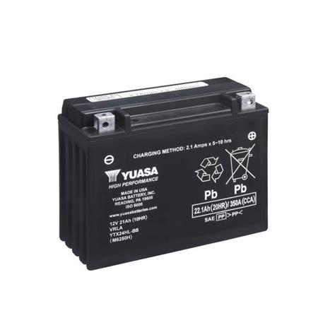 alimentatore batteria moto batterie moto yuasa 12v ytx24hlbs