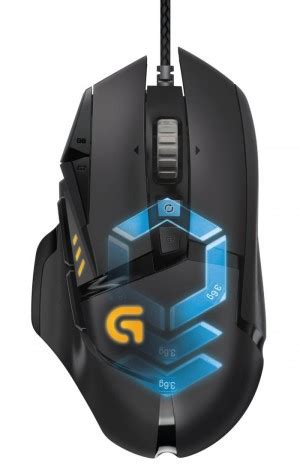 Mouse Logitech Gaming G502 Diskon logitech g502 proteus spectrum rgb gaming mouse announced with pre order legit reviews