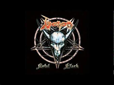 Alpha Venom 3 White Black venom metal black with lyrics
