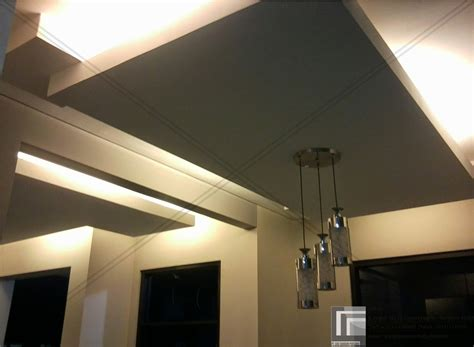 model desain plafon gypsum minimalis sederhana plafon