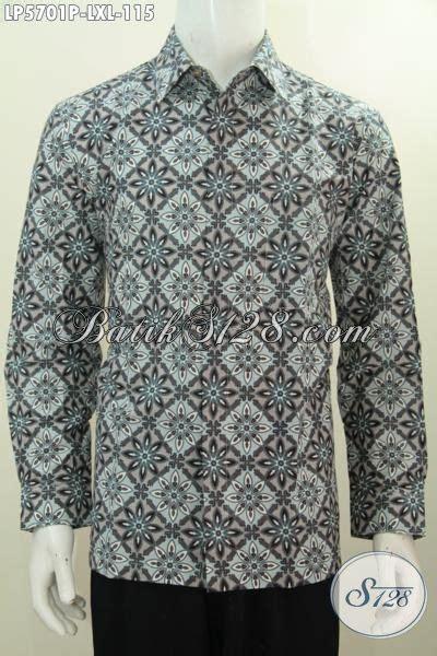 Baju Panjang Abu Abu Motif batik hem abu abu model lengan panjang produk busana