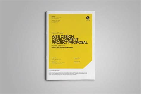 design proposal font web design proposal by fahmie on creative market