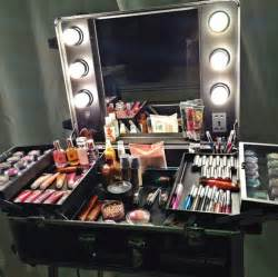 Professional Vanity Table Portable Make Up Station For My New Business To Be Set