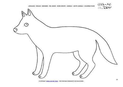 coloring page arctic wolf coloring page arctic wolf color picture of wolf