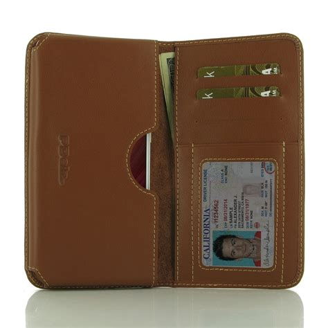 Wallet Xiaomi Redmi Note 4 Premium Leather Murah xiaomi redmi note 4 leather wallet sleeve brown pdair pouch