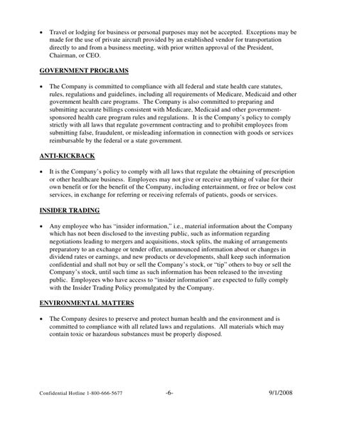 code of ethics policy template code of ethics statement exle pictures to pin on