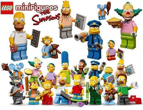 New Itchy Lego Minifigures The Simpsons No 13 Sse050 lego minifig series 171 de brinquedo
