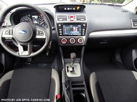 subaru crosstrek interior back 2016 subaru crosstrek interior photos page 3