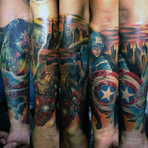 70 captain america tattoo designs f 252 r m 228 nner superheld