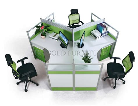 desk for 3 people china modern office furniture 3 person office cubicle