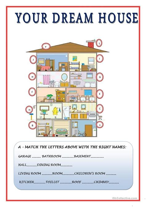 house design games in english rooms in a house esl lesson house plan 2017
