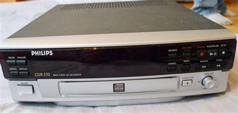 format audio cd normal philips cdr 570 image 284726 audiofanzine