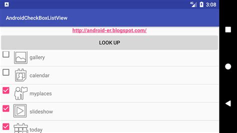android list view android er android listview with checkbox