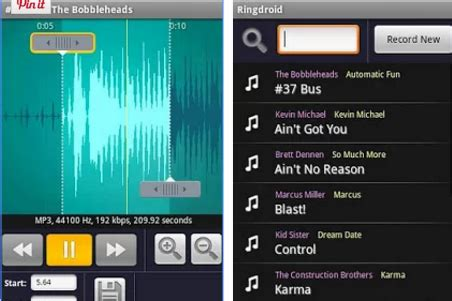 ringdroid apk songs for ringtones on android is possible using ringdroid app mobilitaria