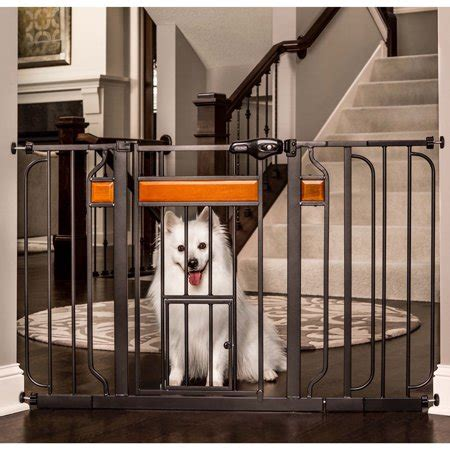 carlson design studio extra wide walk  pet gate