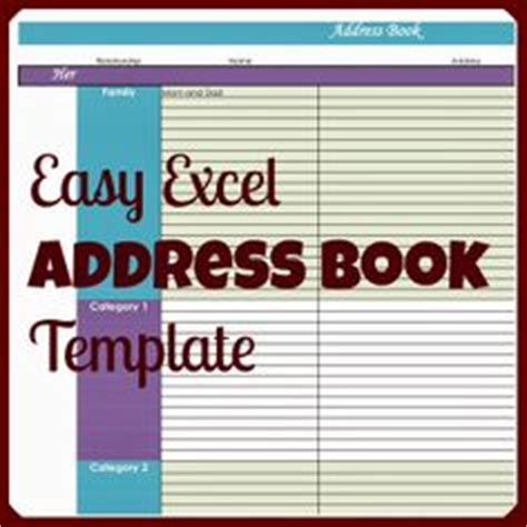 electronic address book template 1000 images about fonts templates printables on
