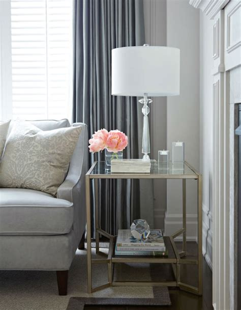 Side Tables Living Room Glass Side Tables For A Modern Living Room 2015 Trends