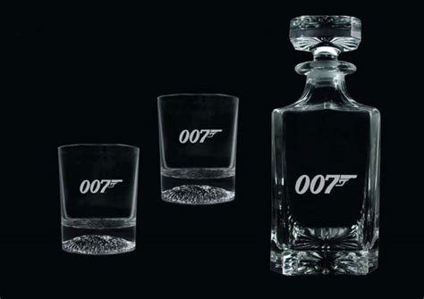 james bond glass eon signs global james bond deal with groovy uk company