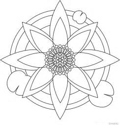 printable mandalas for coloring easy mandala coloring pages coloring home