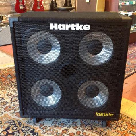 hartke 410 transporter bass cabinet hartke transporter 4x10 bass cab 300 watts reverb