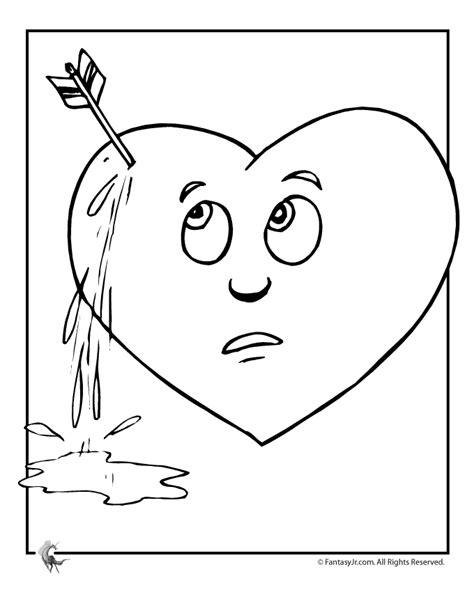 broken heart coloring page broken heart s coloring pages