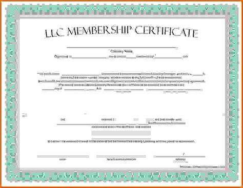 Membership Certificate Template by Membership Certificate Templatereference Letters Words