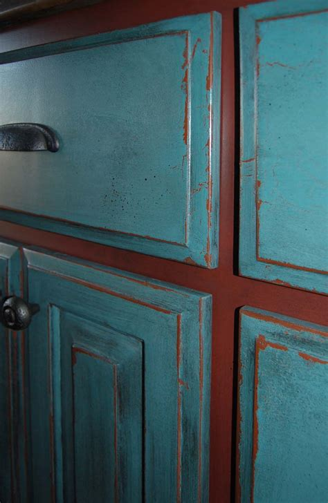 kitchen cabinets with different colored doors davis creative painting painted distressed cabinets