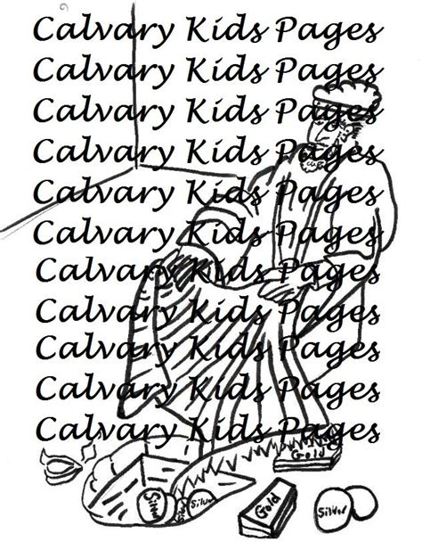 Joshua 7 Coloring Pages by Achan Hides The Plunder Coloring Page This Coloring Page