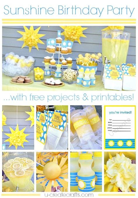 printable birthday theme ideas 17 best images about summer party invitation and