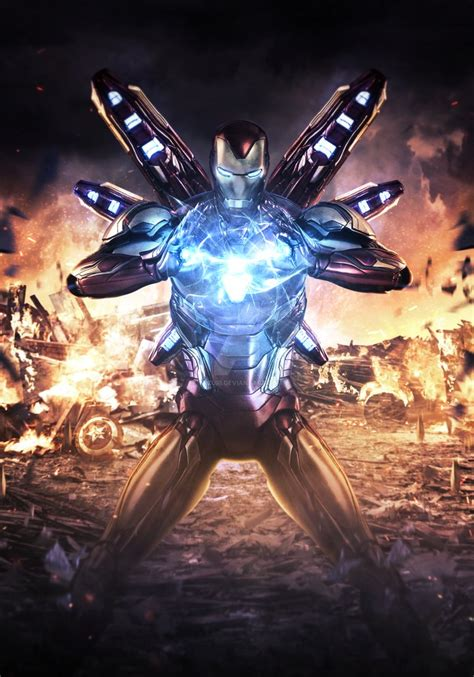 avengers endgame iron mans stand mizuriofficial