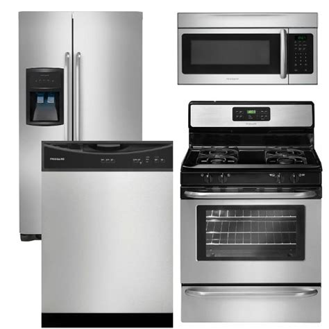 frigidaire kitchen appliance packages fg4pcfsfd30efisskit2 reviews for package 14 frigidaire appliance package 4