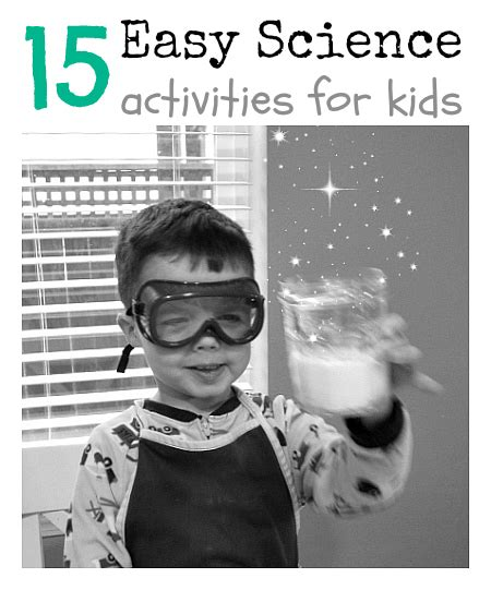 15 Easy Science Activities For No Time For Flash Cards