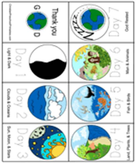 creation story for kids book creation bible bookmarks