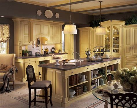 Ideas For Kitchen Decor by Country Kitchen Decorating Ideas