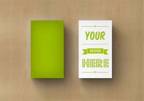 business card photoshop mockup psd template