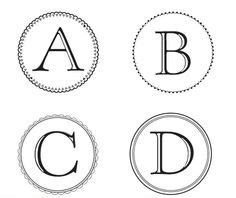 printable letters martha stewart 1000 images about banner templates on pinterest banner