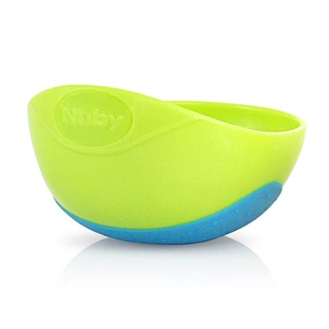 Nuby Sure Grip Bowl Green sure grip bowl buybabydirect