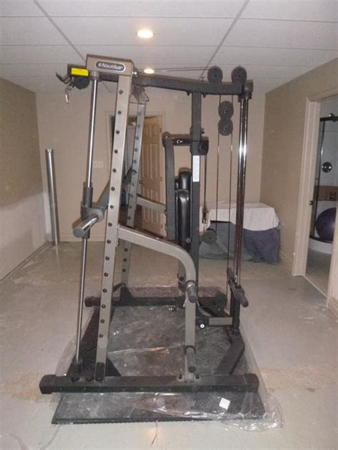 nautilus nt sm1 smith machine nepean ottawa