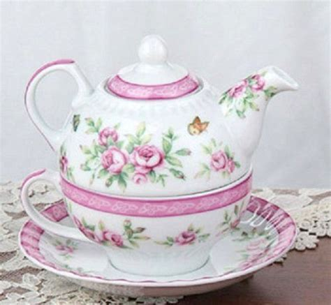 Shabby Chic Tea Set 17 best images about a cup of chai on vintage teacups bone china tea cups and