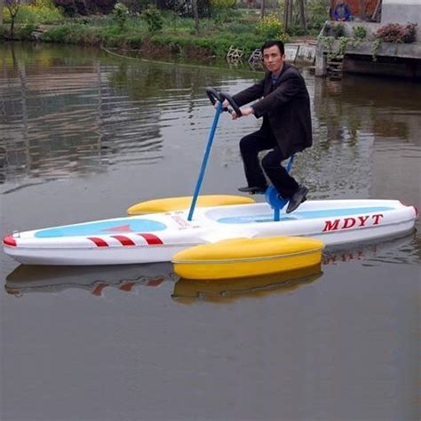 1 person boat china pedal boat one person waterbike china boat