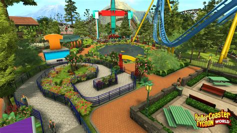 rollercoaster tycoon world   screenshots gamerbolt