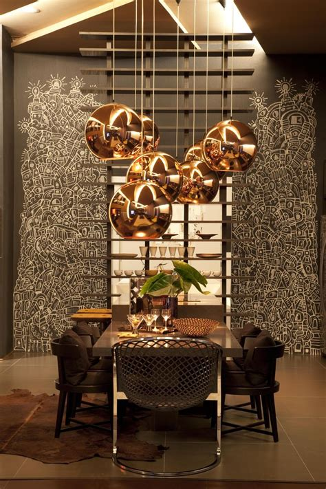 Gold Dining Room Light Modern Pendants For Unique And Attractive Home Interior
