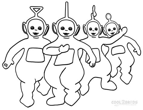 Teletubbies Coloring Pages by Printable Teletubbies Coloring Pages For Cool2bkids
