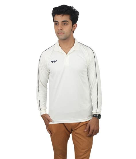 tk white polyester t shirt buy tk white polyester t shirt at low price snapdeal