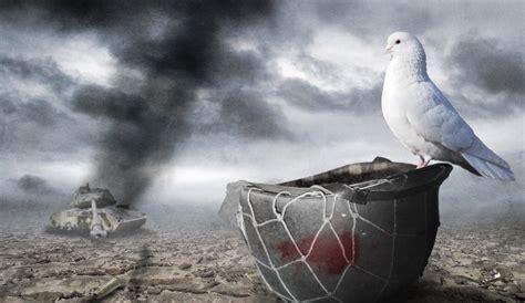 Peace War war dove progreso weekly