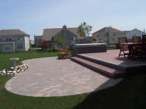 Deck To Patio Designs Paver Patio Design And Installation Columbus Decks Porches And Patios By Archadeck