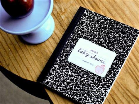Baby Shower Keepsake Book Ideas by Back To School Baby Shower